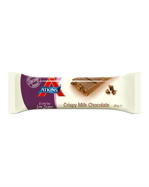 Atkins Endulge Low Sugar Crispy Milk Bar 30g