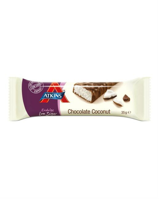 Atkins Endulge Low Sugar Chocolate Coconut Bar 35g