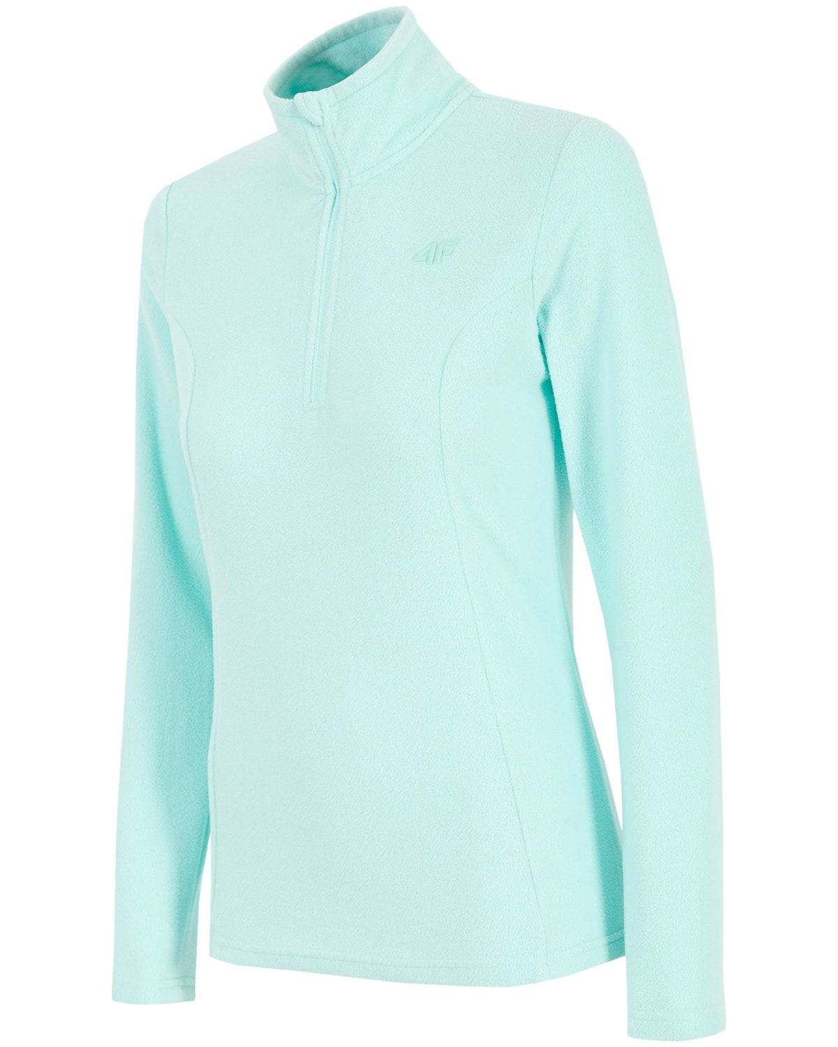 4F Fleece Zip Women X4Z18-BIDP352-MINT