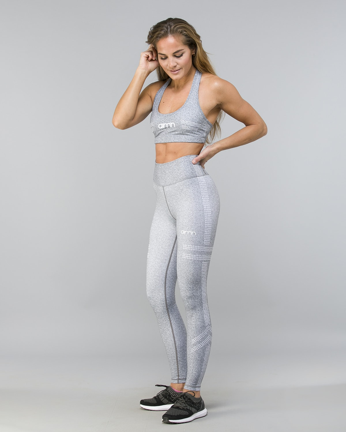 Aim'n Grey Tribe 2.0 Tights 18020017 and Bra 18030014