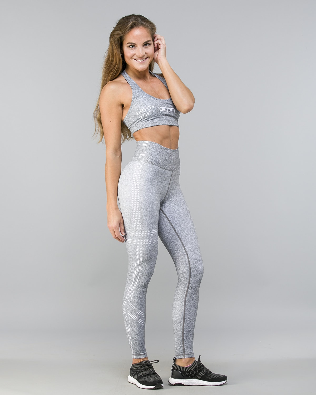 Aim'n Grey Tribe 2.0 Tights 18020017 and Bra 18030014 d