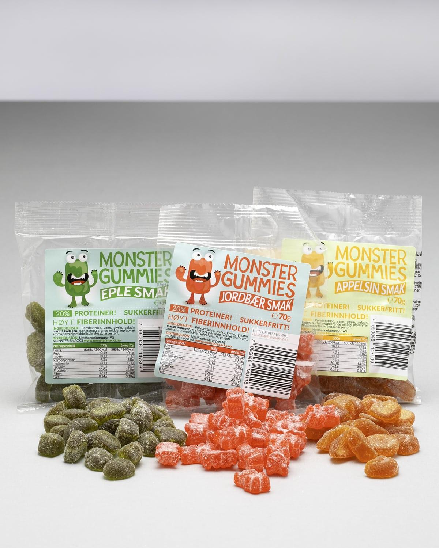 Monster gummies