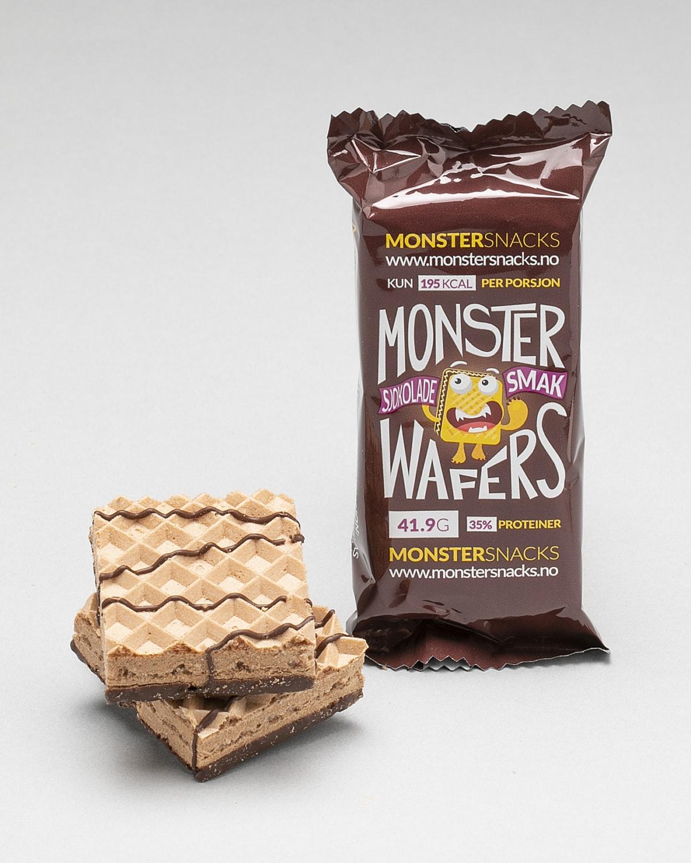 Monster sjokolade enkelt bar