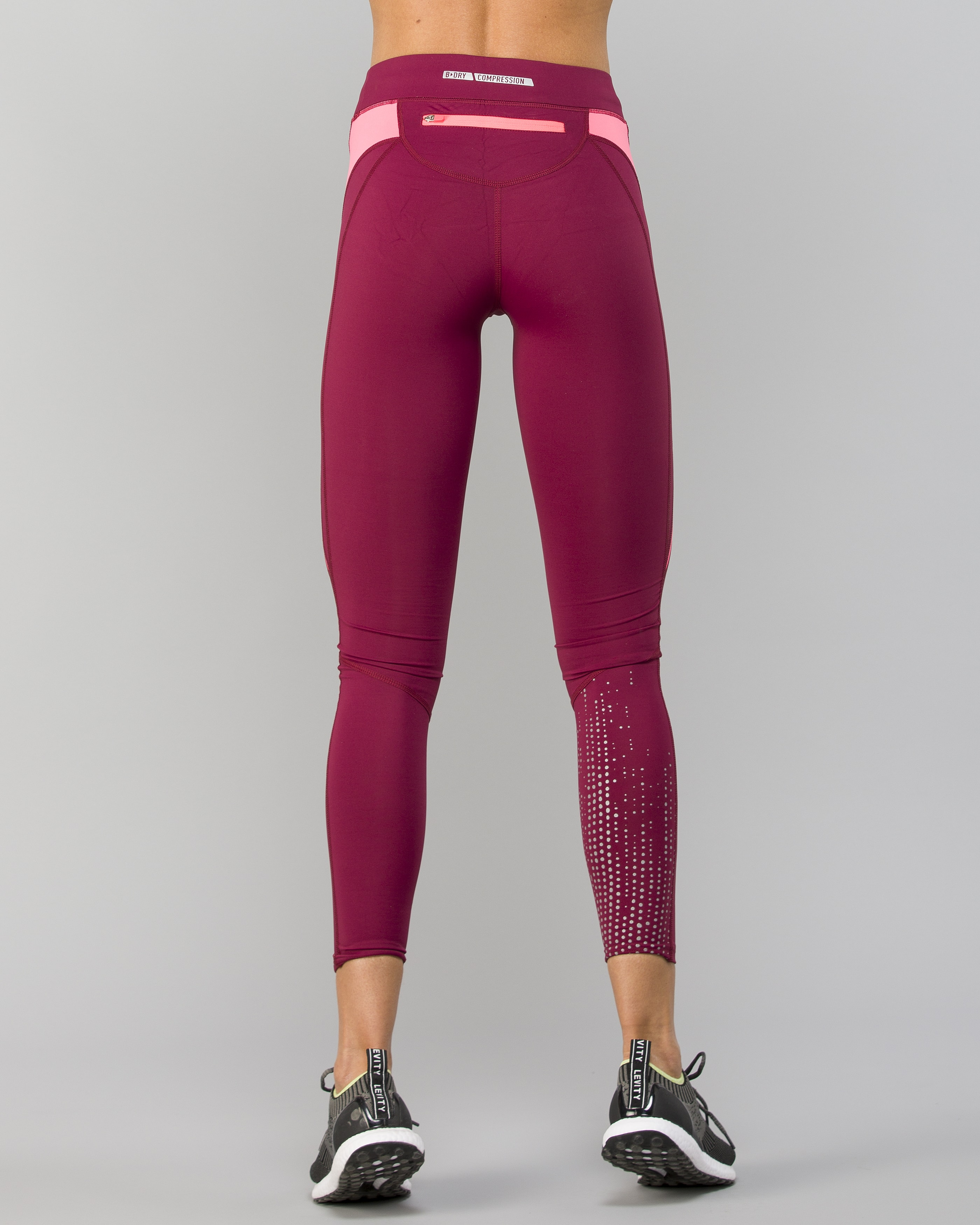 6596ec7242 Only Play Vibe Run Compression Tights - Rhododendron - Tights.no