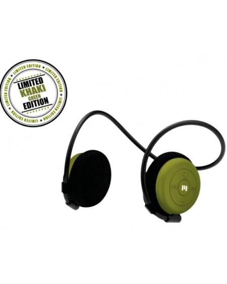 Limited Edition Trådløse Hodetelefoner Dame - Khaki Green