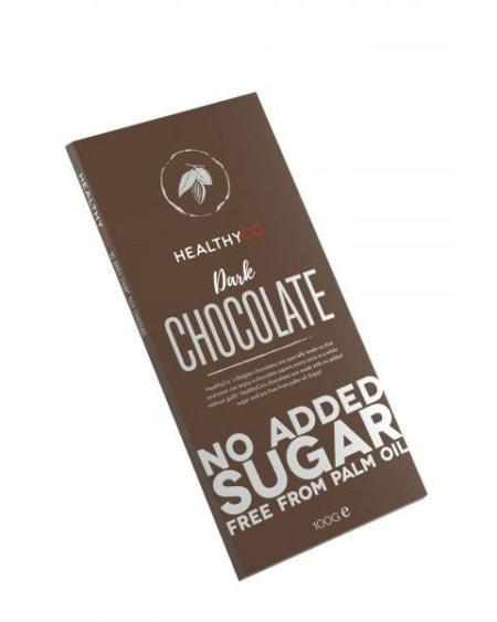HealthyCo Sukkerfri Mørk Sjokolade 100g