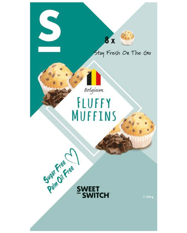 Sweet Fluffy: Sweet-Switch Sukkerfri Fluffy Muffins 256g