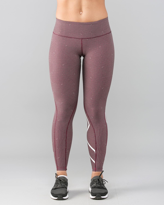 2XU-Print-Mid-Rise-Comp-Tights-W–Brick-Pink-White