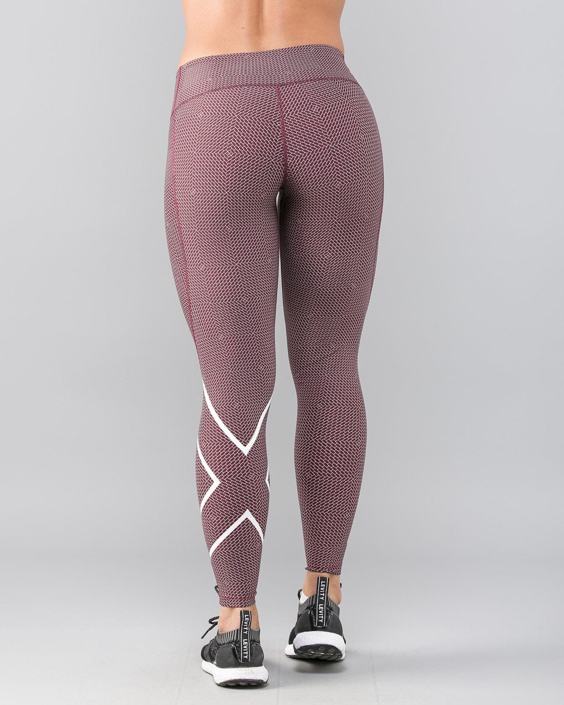 2XU-Print-Mid-Rise-Comp-Tights-W–Brick-Pink-White2
