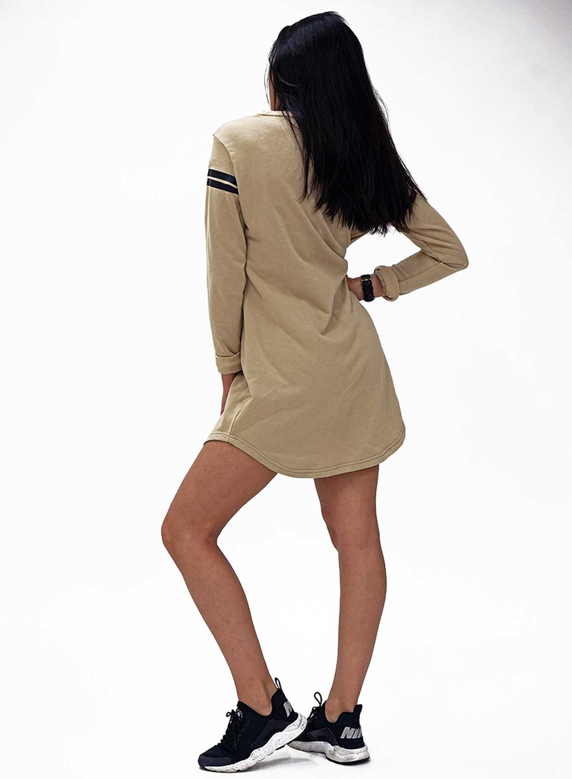 Aim'n Nude Long Sleeve Dress 17050007 b