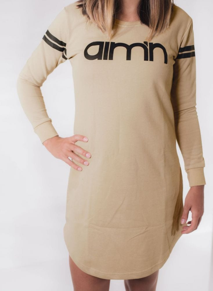 Aim'n Nude Long Sleeve Dress 17050007 d