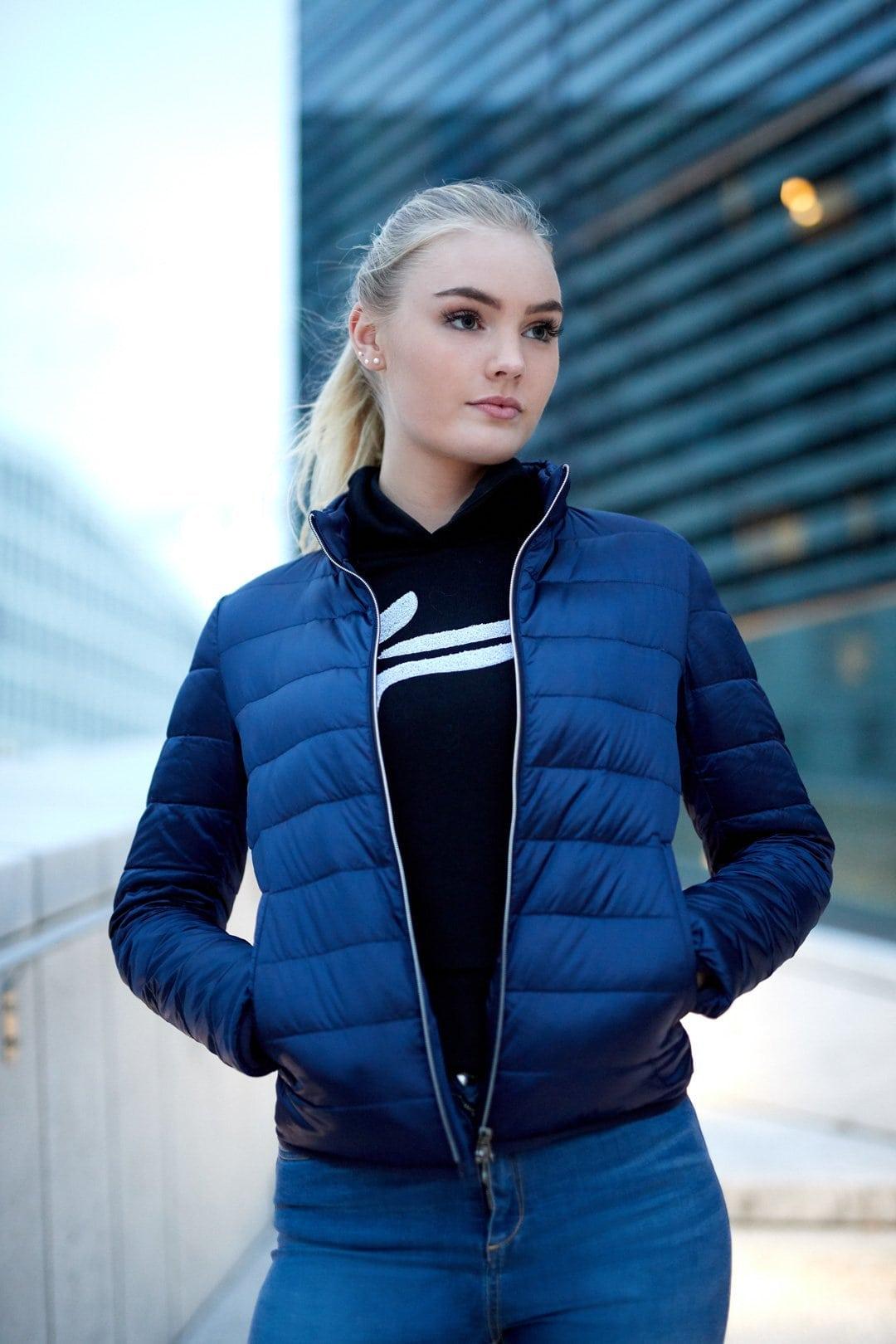 FAMME Navy Blue Caliente Jacket citj-nb b