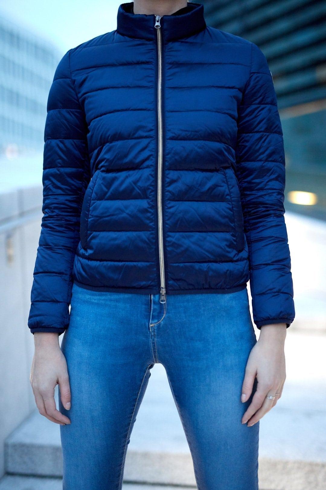 FAMME Navy Blue Caliente Jacket citj-nb c