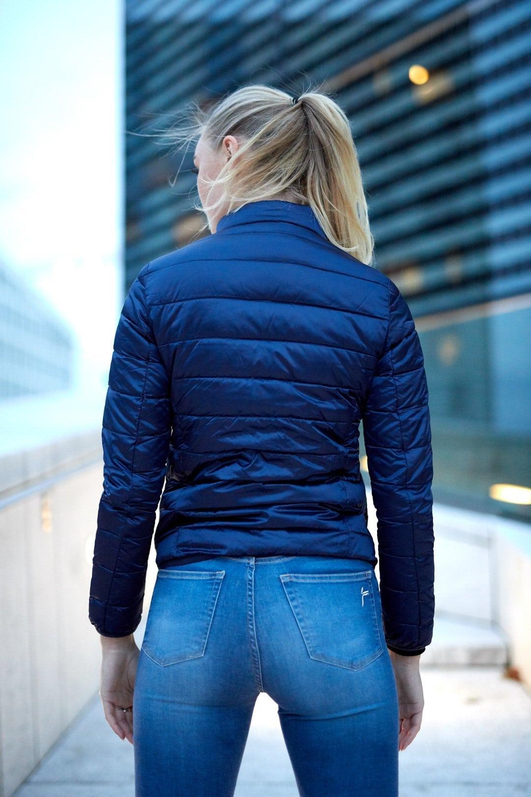 FAMME Navy Blue Caliente Jacket citj-nb d