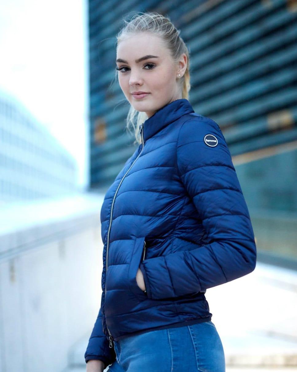 FAMME Navy Blue Caliente Jacket citj-nb