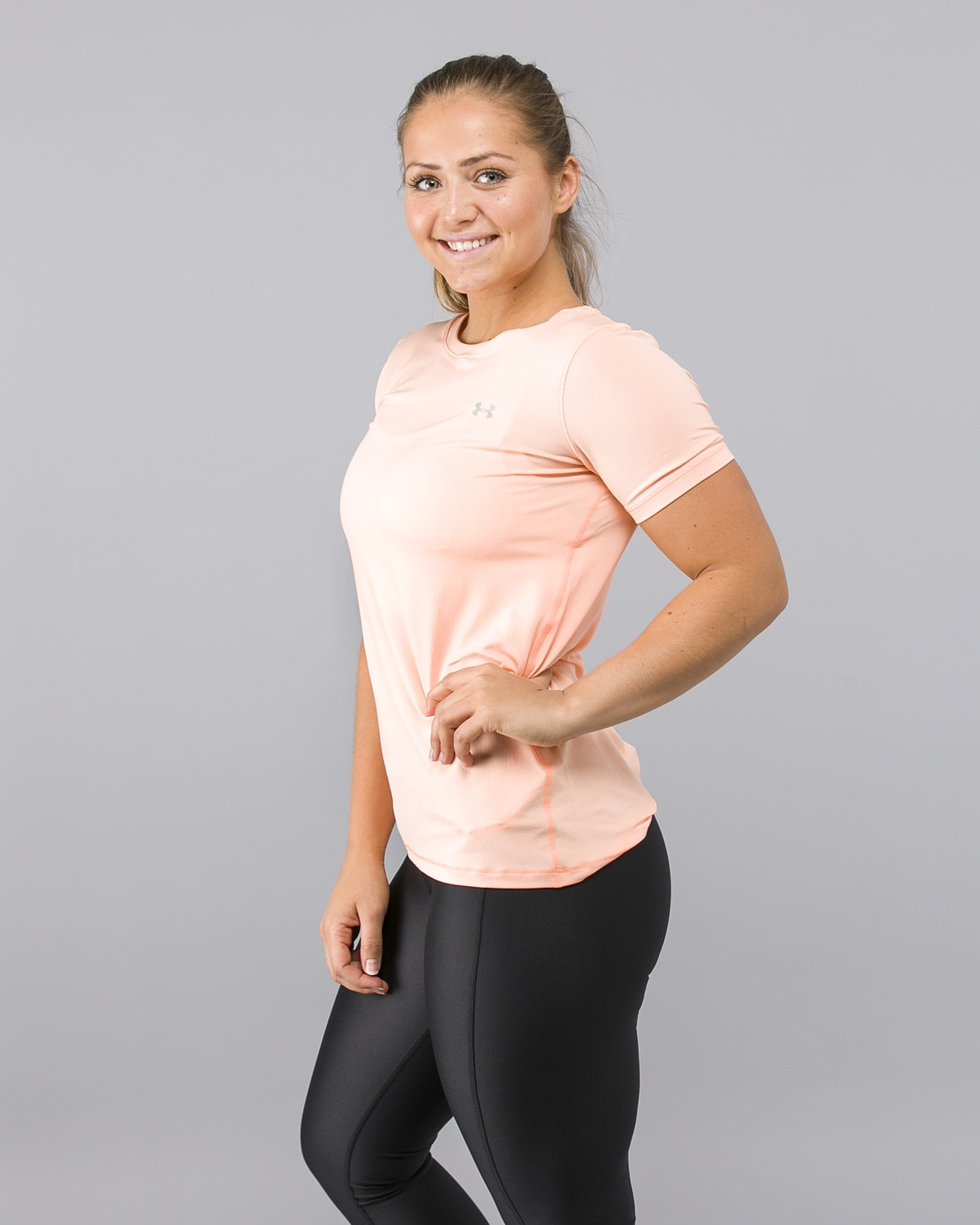 Under-Armour-Heatgear-Short-Sleeve-Shirt-Peach5