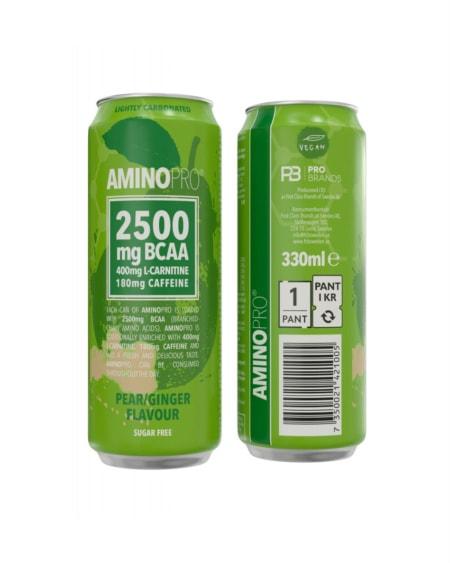 Amino Pro Pear & Ginger 330ml