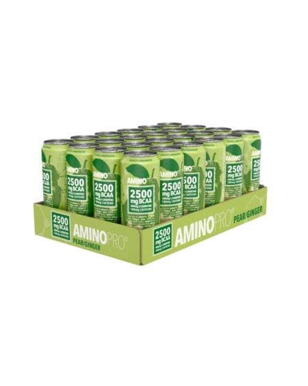 Amino Pro Pear & Ginger 24x330ml