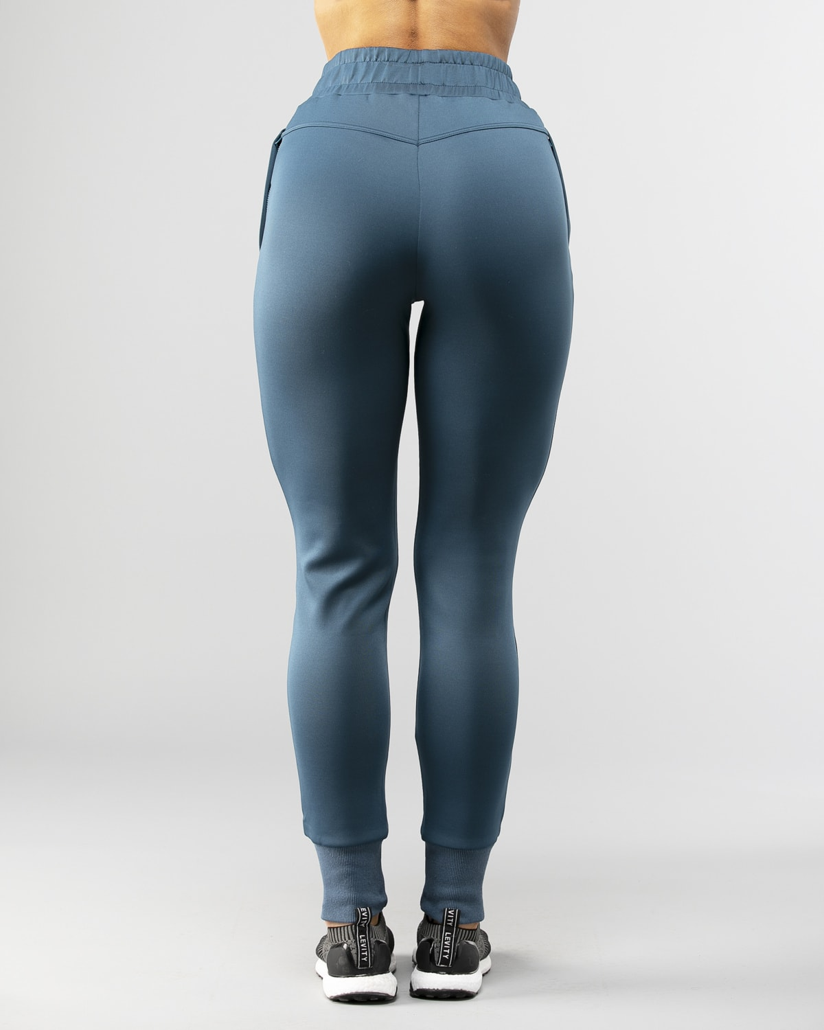 Squat Wolf Knot Joggers Teal 3