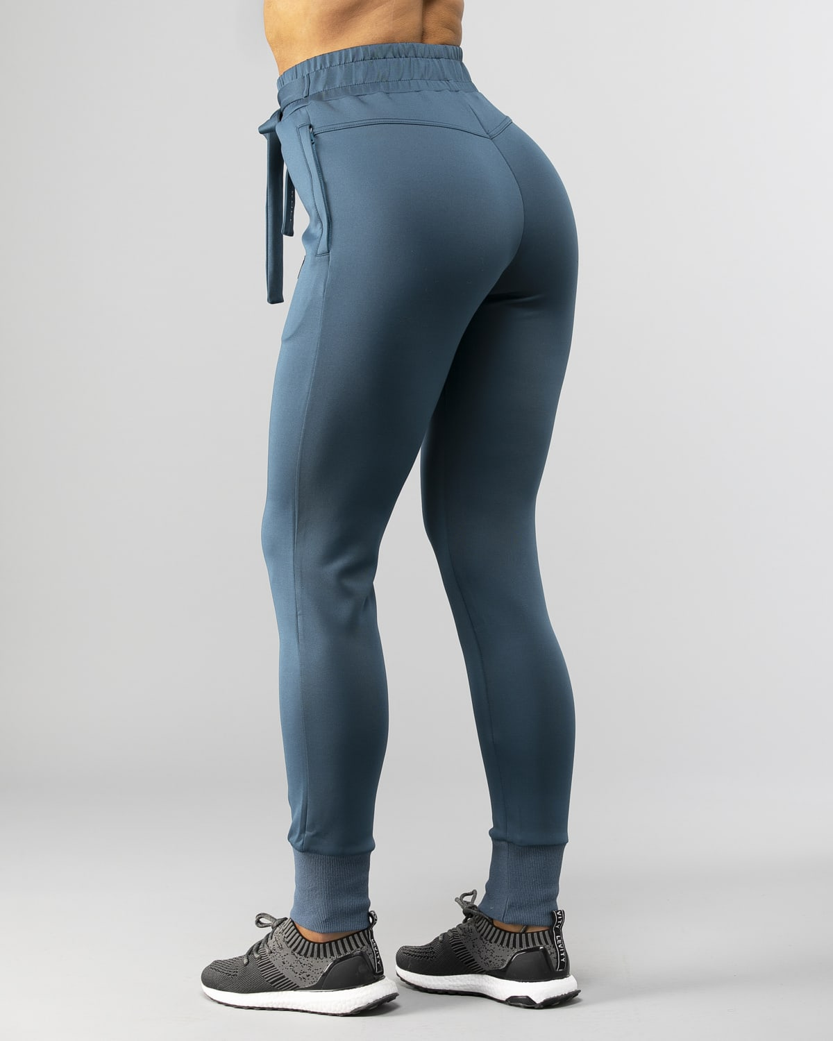Squat Wolf Knot Joggers Teal 4