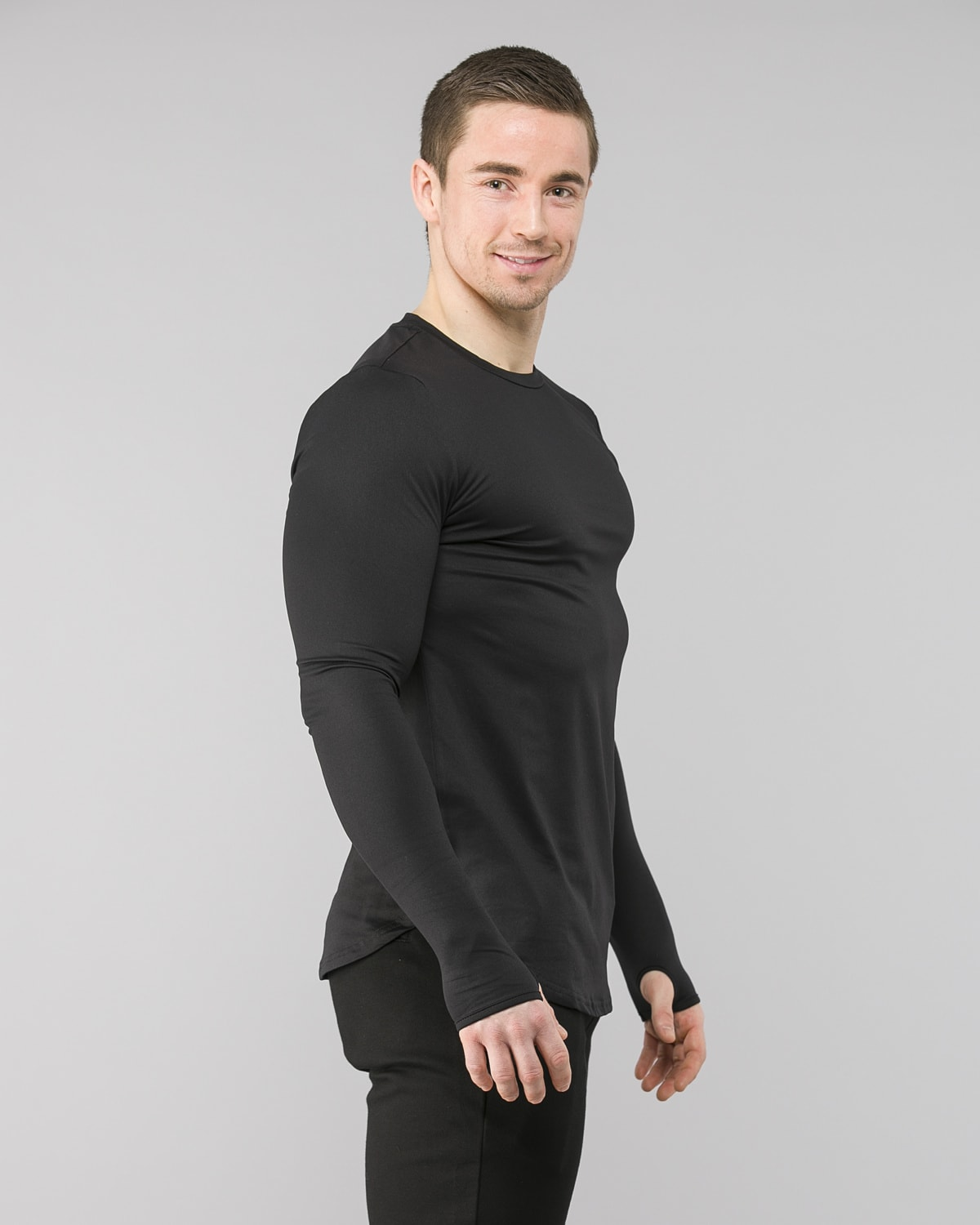 Squat Wolf Muscle Tee Black 4