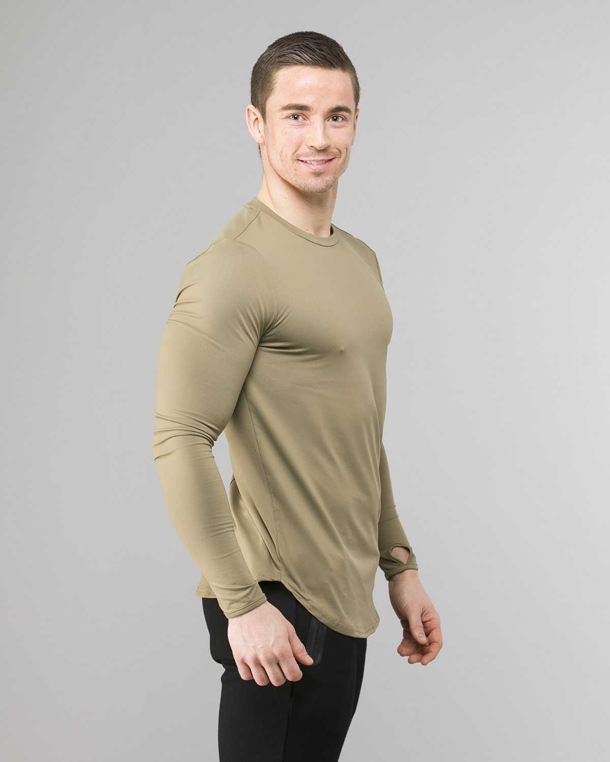 Squat Wolf Muscle Tee Olive 2