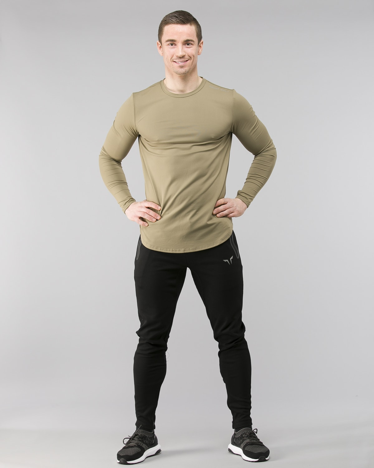 Squat Wolf Muscle Tee Olive 3