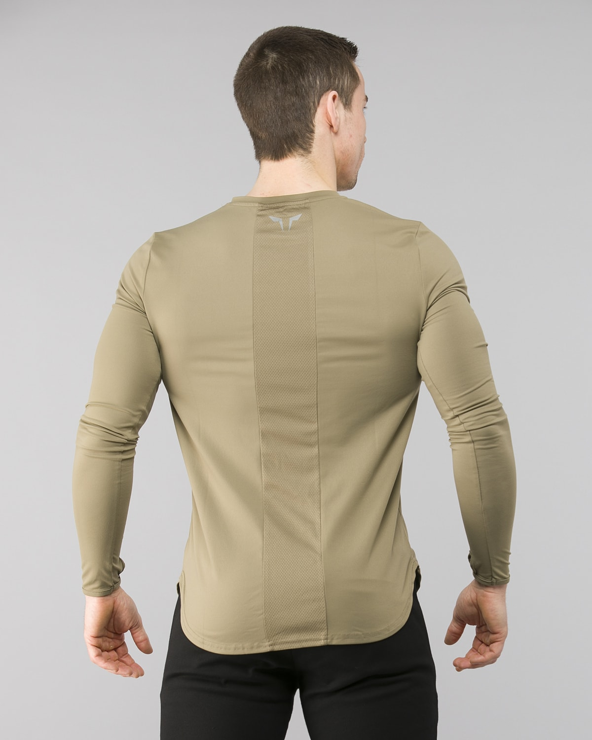 Squat Wolf Muscle Tee Olive 4