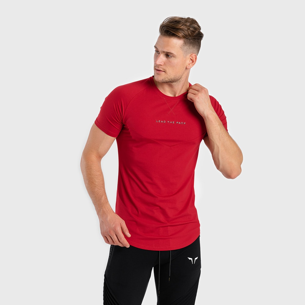 Statement-Tee-Red
