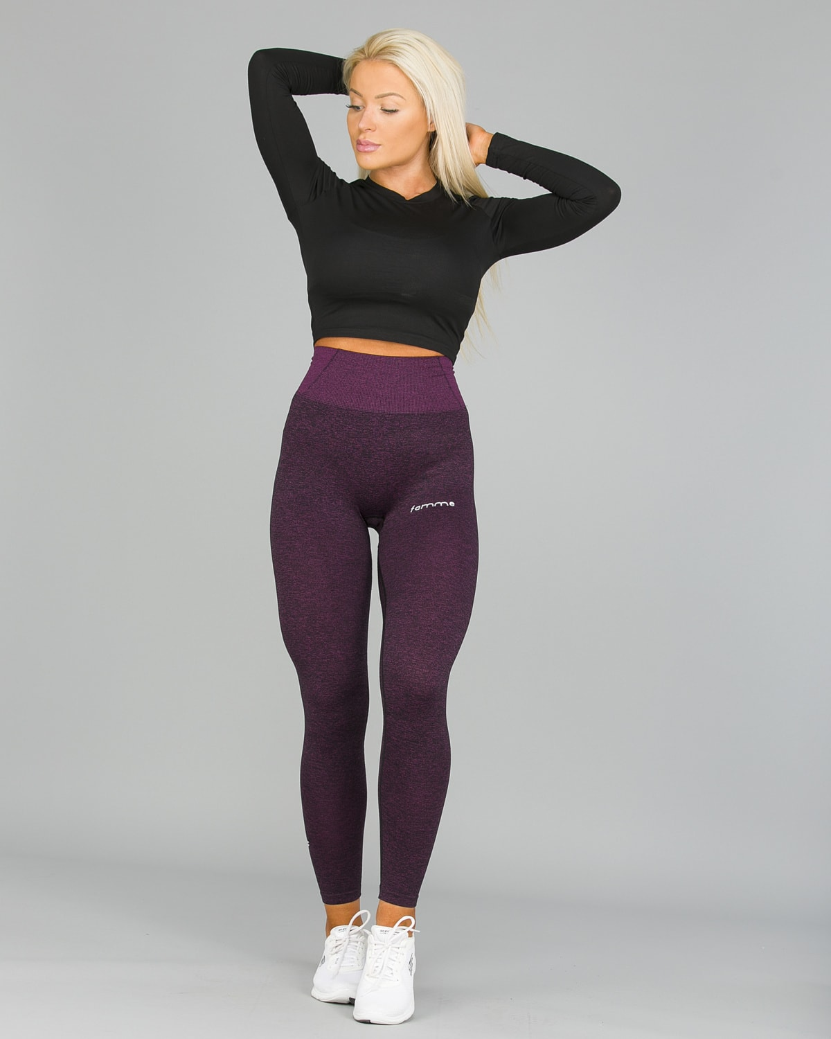 FAMME Lavender Seamless Essential Tights6