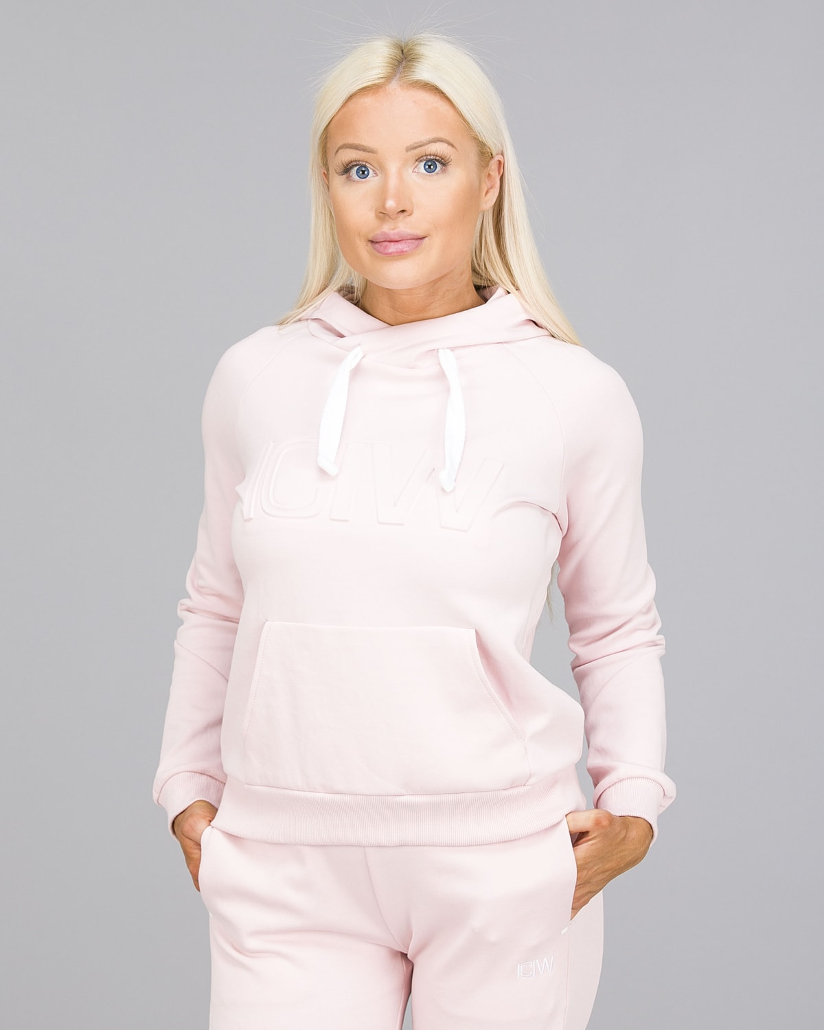 ICANIWILL – Hoodie 3D – Dusty Pink