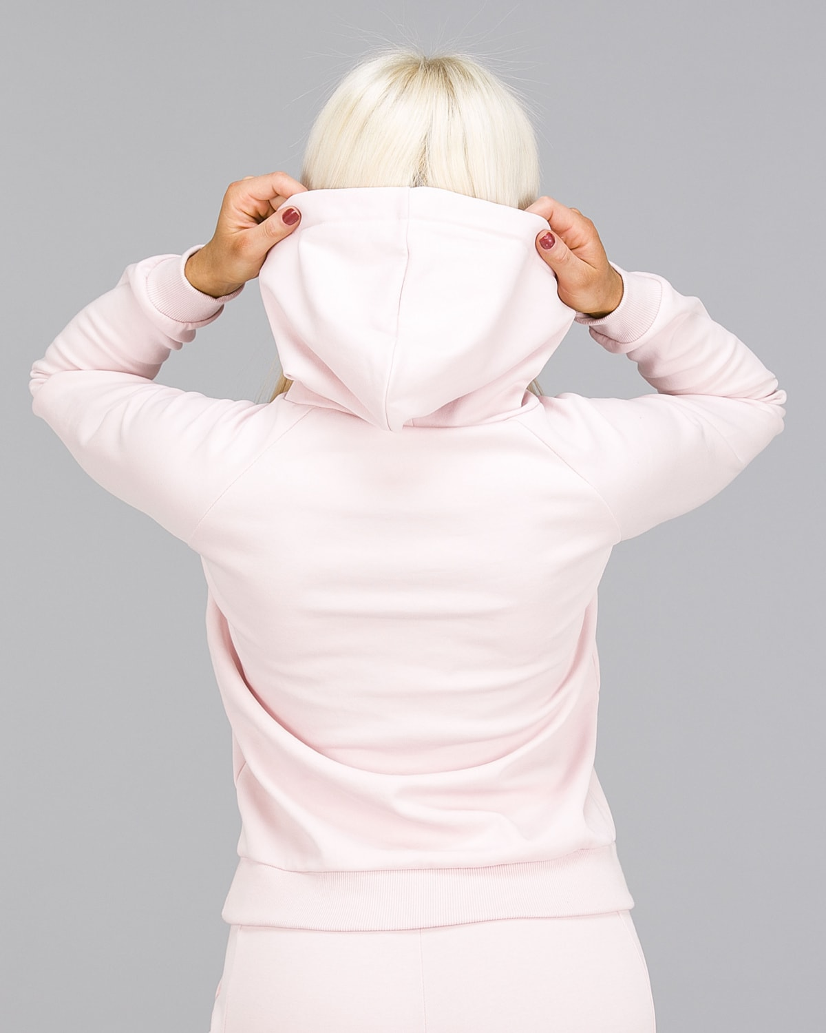 ICANIWILL – Hoodie 3D – Dusty Pink b