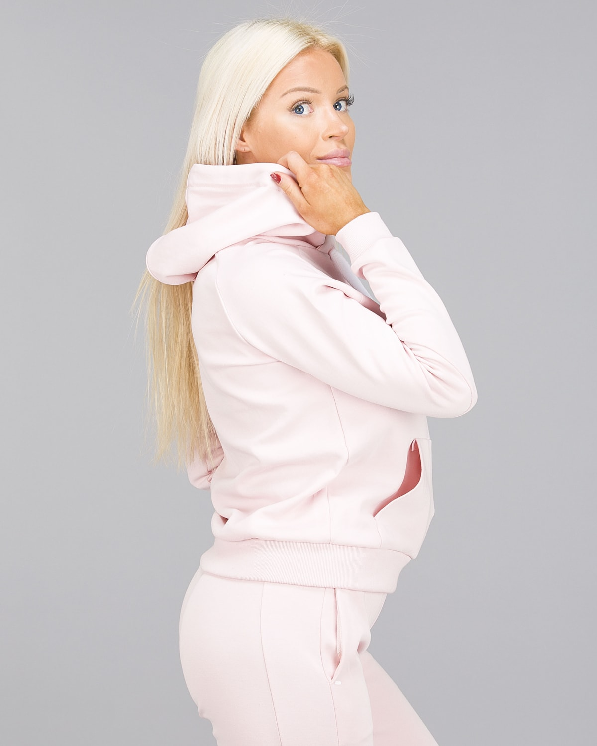 ICANIWILL – Hoodie 3D – Dusty Pink c