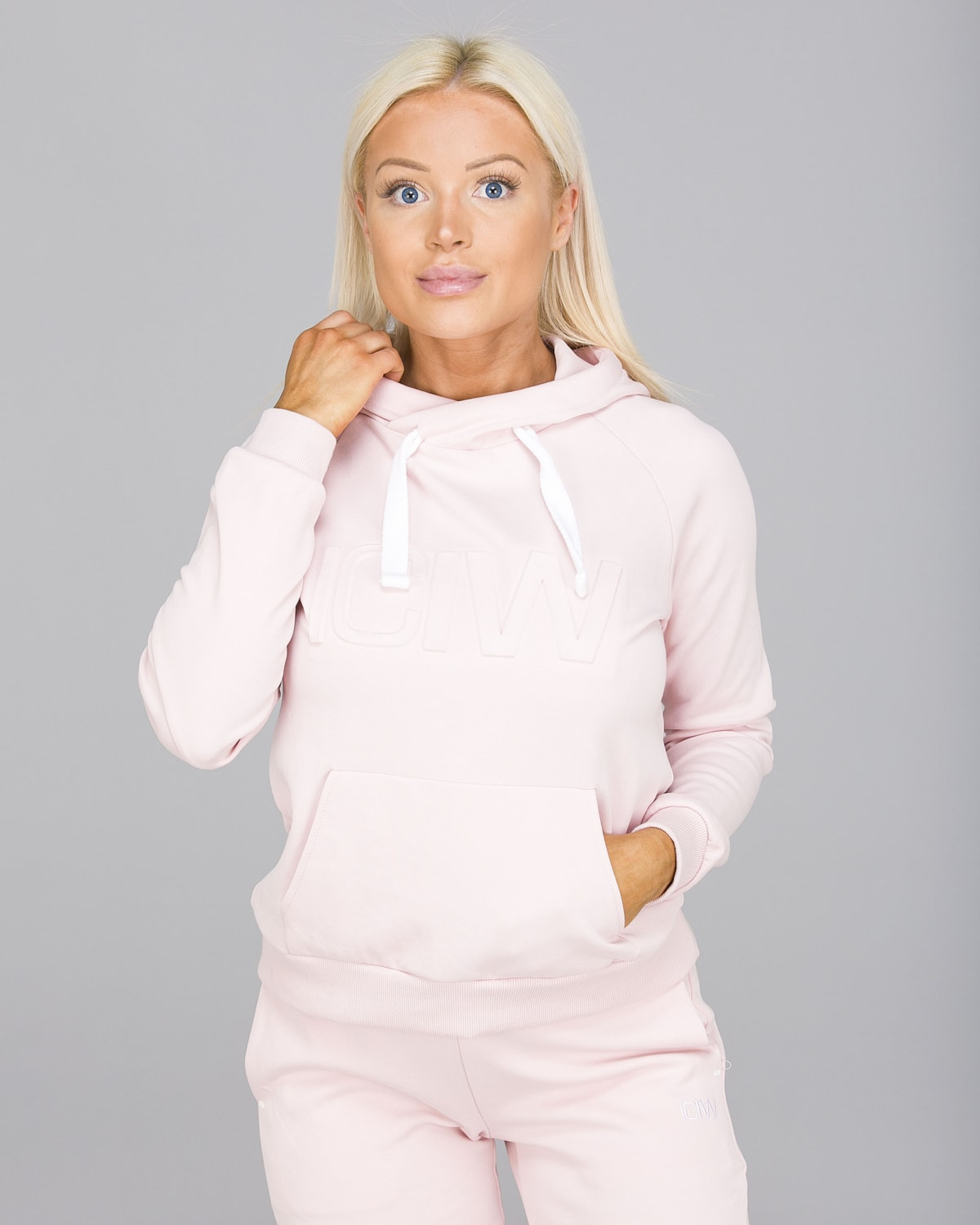 ICANIWILL – Hoodie 3D – Dusty Pink e