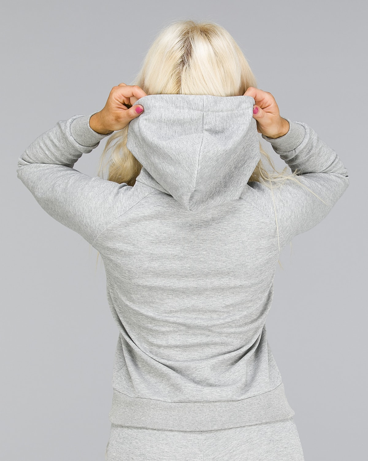 ICANIWILL – Hoodie 3D – Light Grey2
