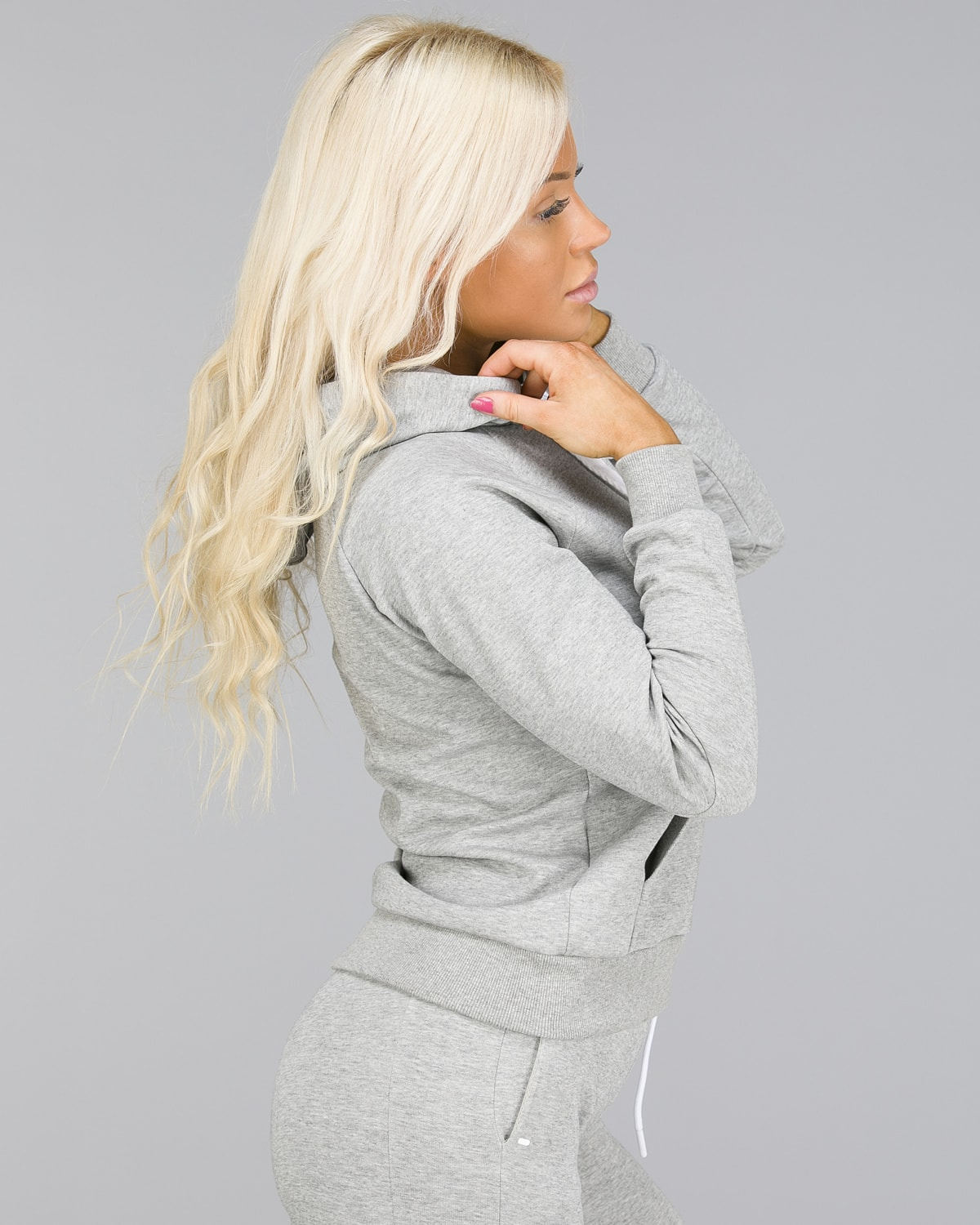 ICANIWILL – Hoodie 3D – Light Grey3
