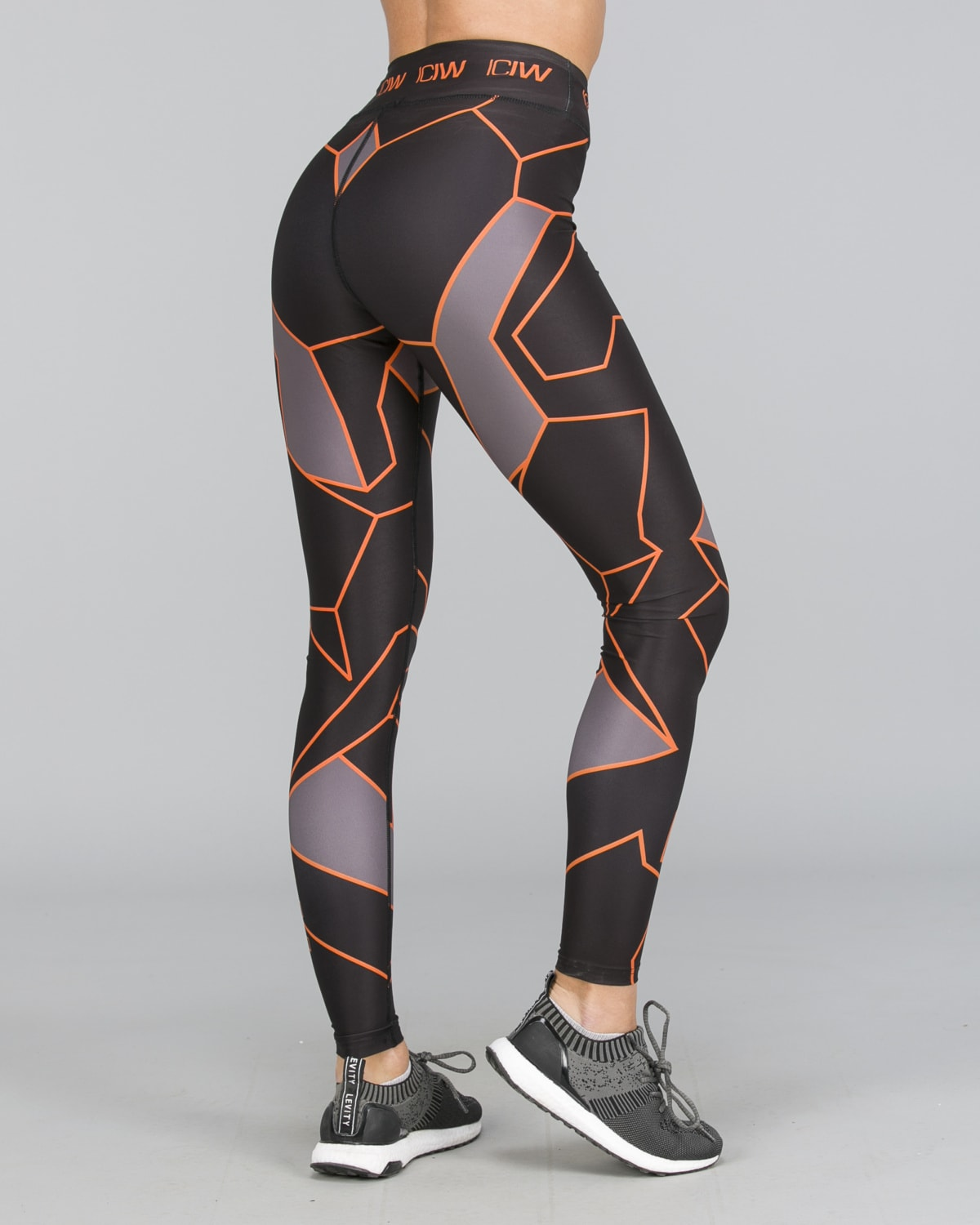ICANIWILL – Orange Camo Tights d