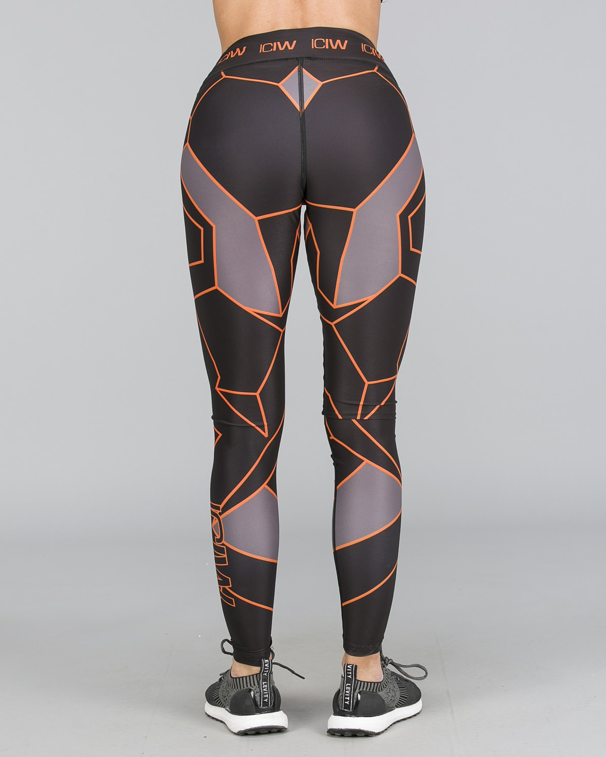 ICANIWILL – Orange Camo Tights e