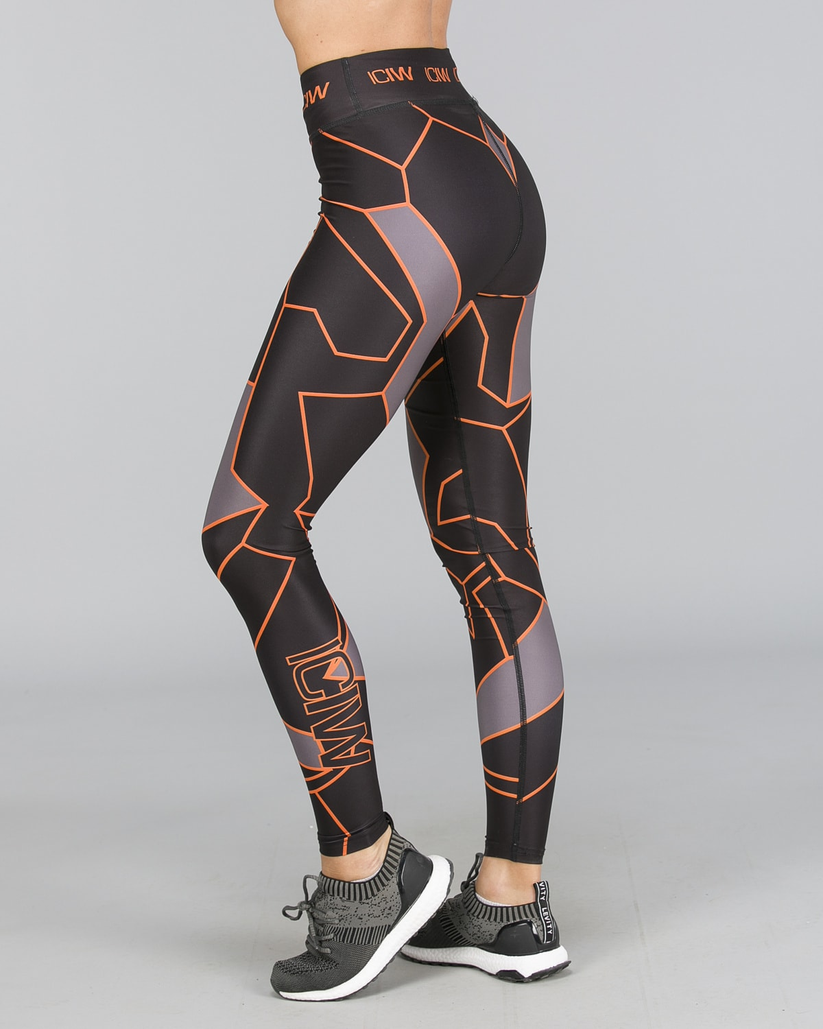 ICANIWILL – Orange Camo Tights f