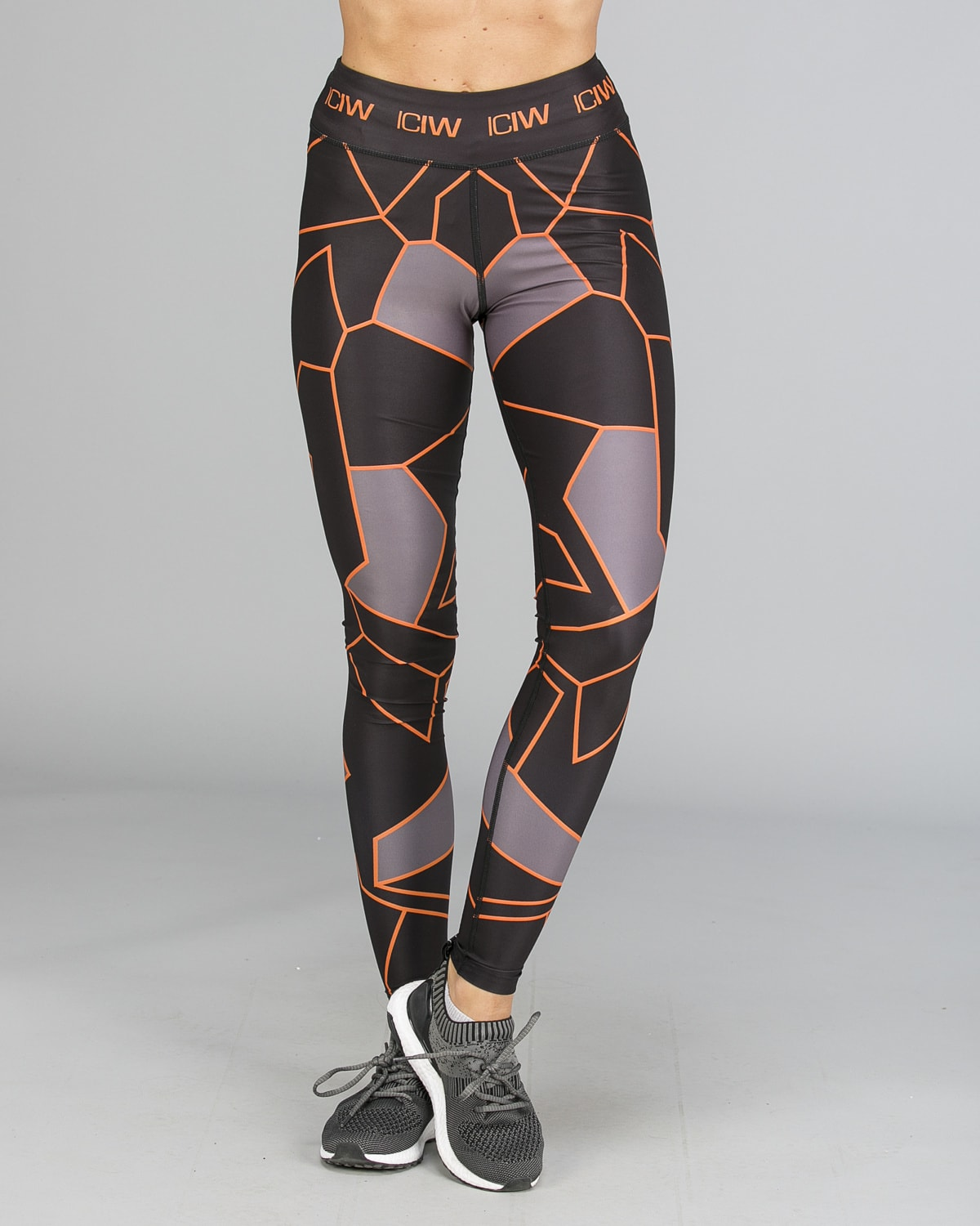 ICANIWILL – Orange Camo Tights g