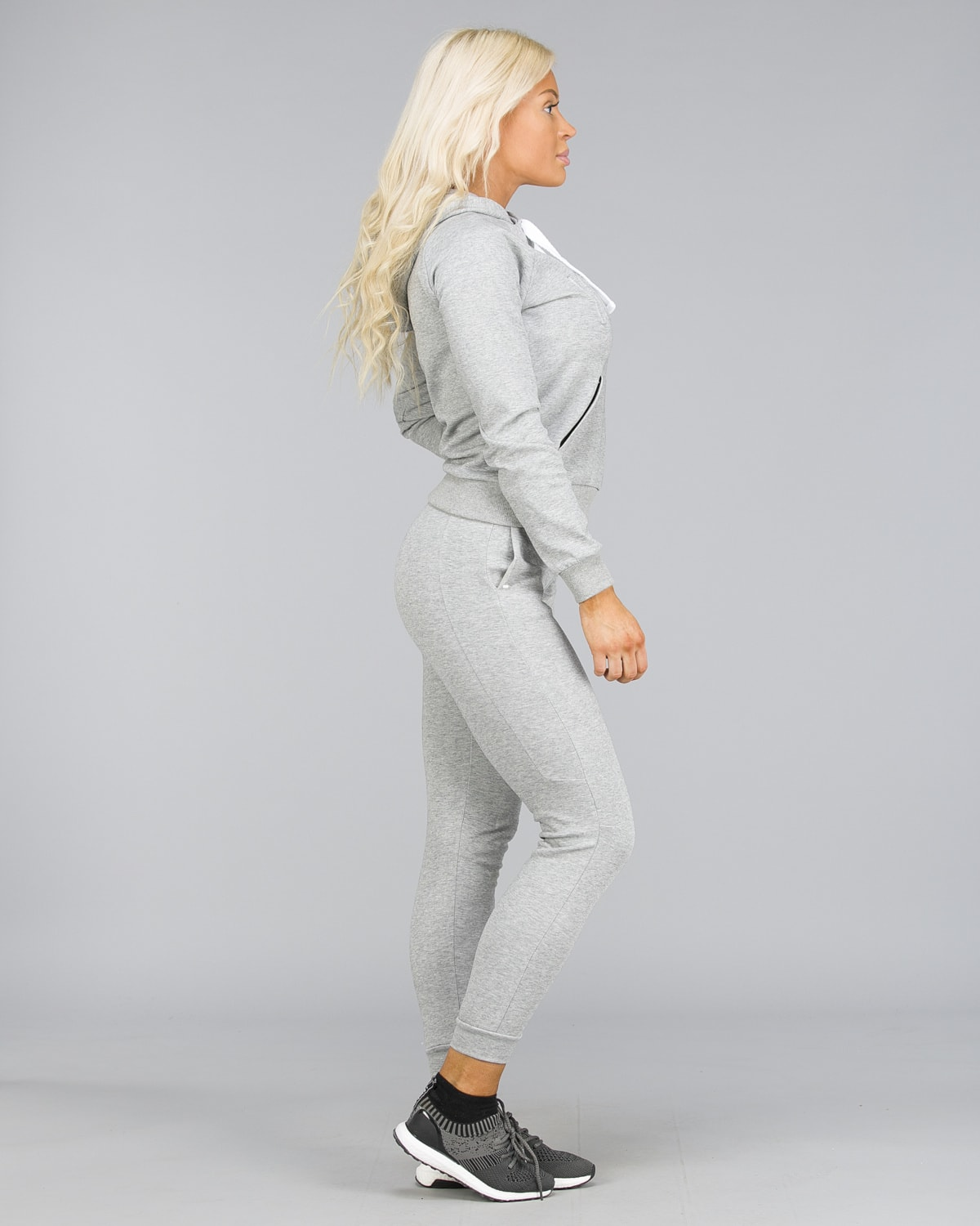 ICANIWILL – Sweat Pants – Light Grey d