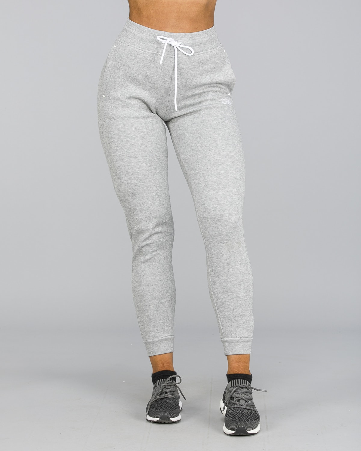 ICANIWILL – Sweat Pants – Light Grey f
