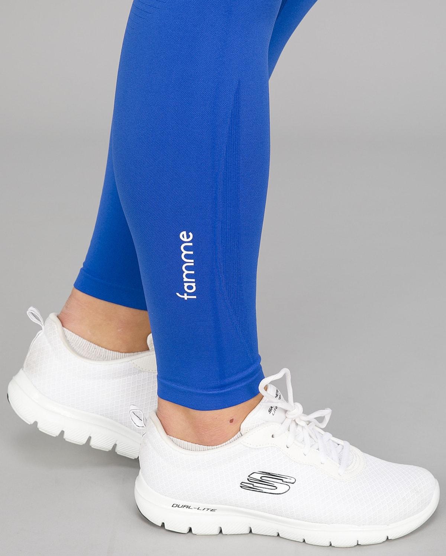 Nautical Blue Vortex Leggings 12