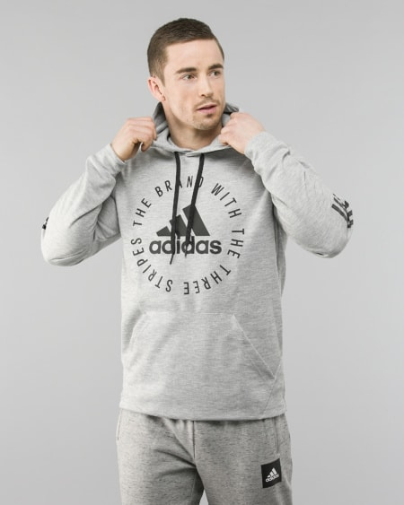 Adidas Pullover Jacket Indigo Green
