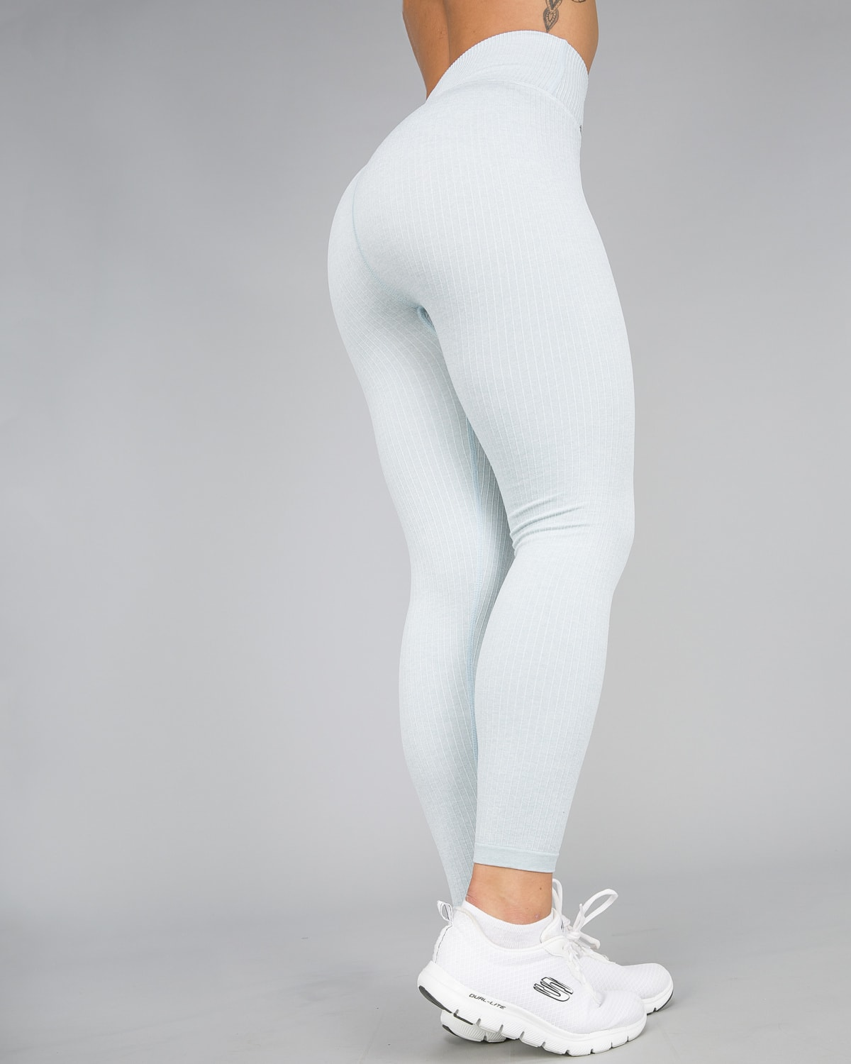 213360ce5b Aim'n Turquoise Ribbed Seamless Tights - Tights.no