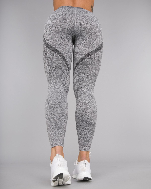 Melange Grey Elevate Vortex Leggings 12