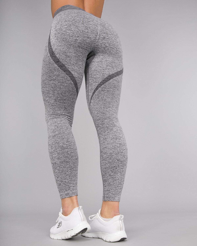 Melange Grey Elevate Vortex Leggings 13