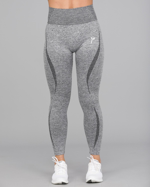 Melange Grey Elevate Vortex Leggings 5
