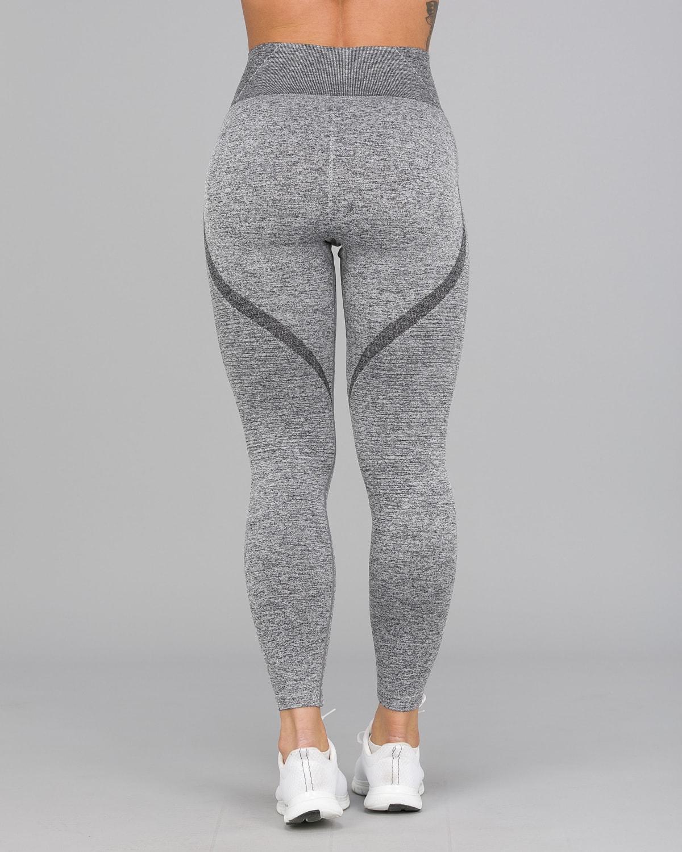 Melange Grey Elevate Vortex Leggings 7