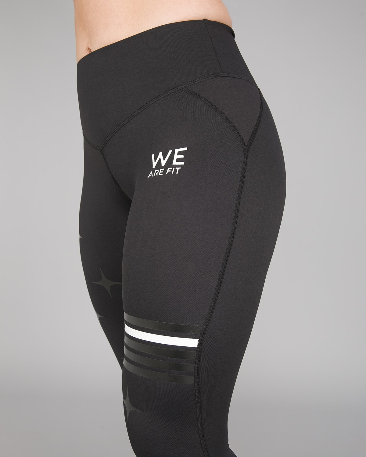 We Are Fit Star Black Tights1